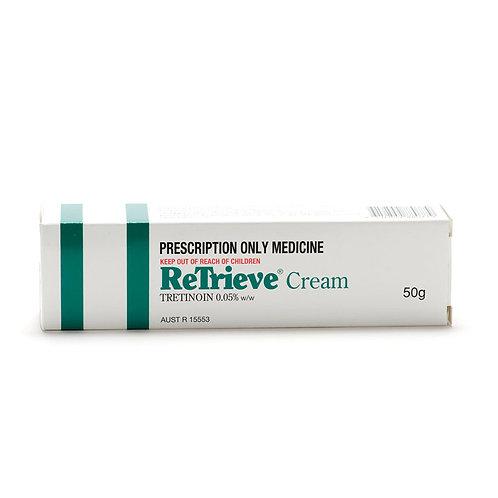 ReTrieve Cream (Tretinoin 0.05%) 50gm/Tube