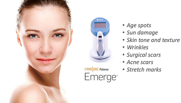 Emerge Fractional Laser available at Swan Cosmetic Consulting