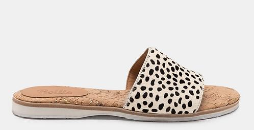 Rolie - Sandal Slide (Snow Leopard)