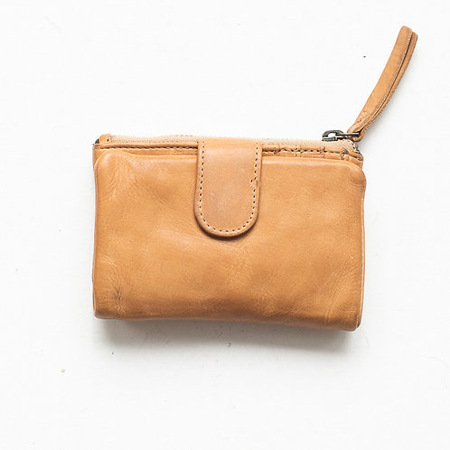 Juju and Co  - Small Capri Leather Wallet (Natural)