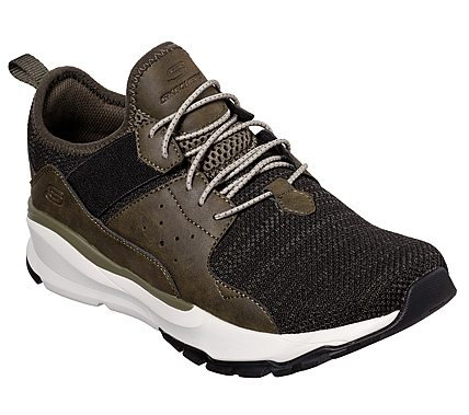 Skechers - Mens 65865 (Olive)