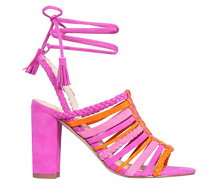 Nude Footwear - Sicily (Pink & Orange)