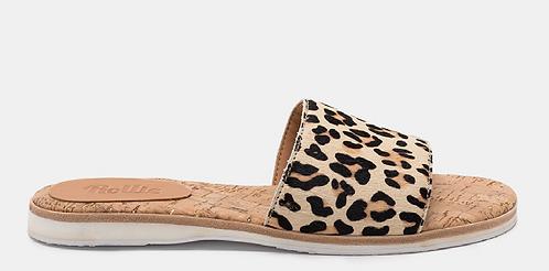 Rolie - Sandal Slide (Camel Leopard)