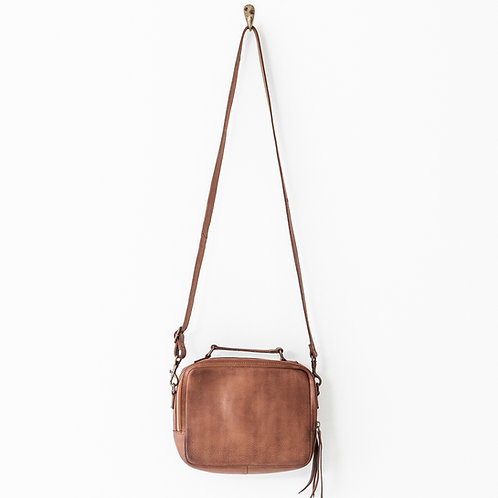 Juju and Co  - Berlin Leather Bag (Cognac)