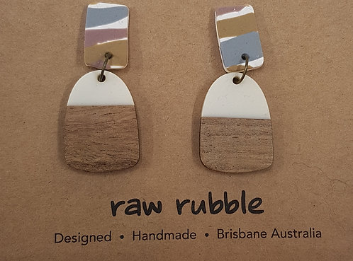Raw Rubble - Earrings