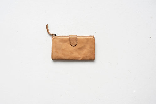 Juju and Co  - Large Capri Leather Wallet (Natural)