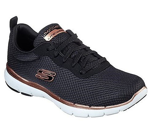 Skechers - 13070 Flex Appeal 3.0 First Insight (Black\Rose Gold)