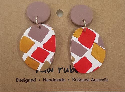 Raw Rubble - Earrings