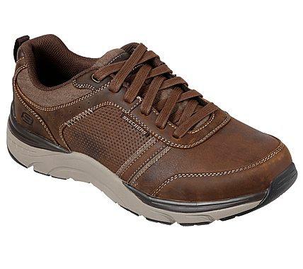 Skechers - Mens 66293 Brown