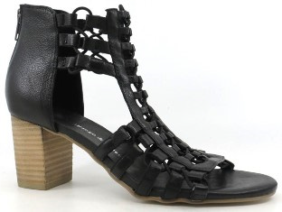 Django and Juliette - Sonya (Black Leather Natural Heel)
