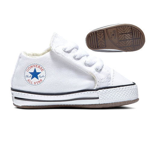 Converse - Infant Boxed Cribster (White/Natural Ivory/White)