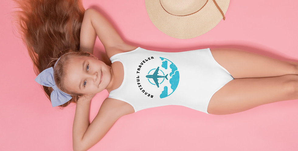 Toddler Beautiful Traveler One Piece Swimsuit