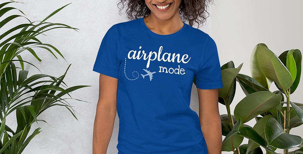 Airplane Mode Unisex Tee