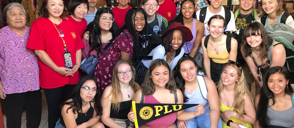 Pacific Lutheran University Visit