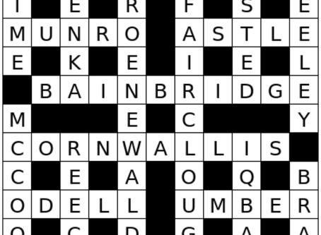 Crossword Solution - June