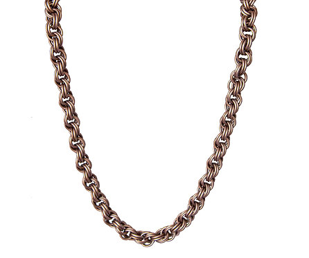 Champagne Double Spiral Chain