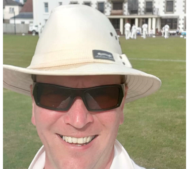 COVID Cricket in Jersey – Matt French