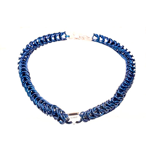 Blue Box Necklace