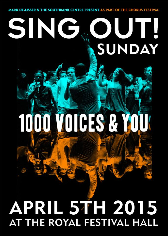 Sing Out Sunday- Southbank