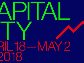 CAPITAL CITY exhibition: launch night Tuesday 17 April, 6-9pm. Free and open to all.