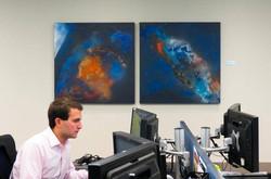 Paintings at Morgan Stanley