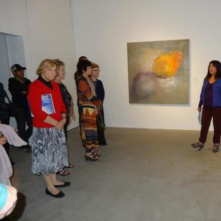LA Municiple Art Gallery artist talk