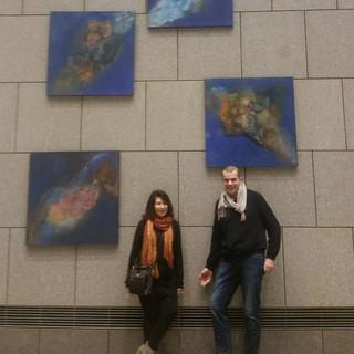 RaumZeit (Spacetime), Kunstraum F200 galerie, Philip Johnston Bl.,Berlin