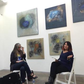 Shayna Nys Dambrot artist Q &A