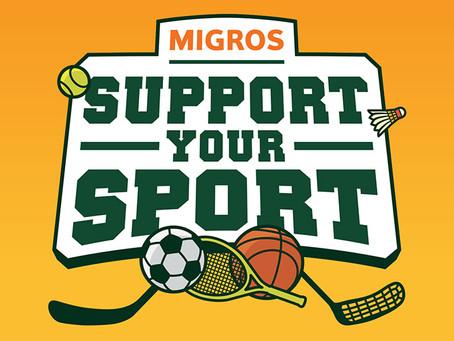 Support your Sport – Migros-Förderaktion des Schweizer Amateursport