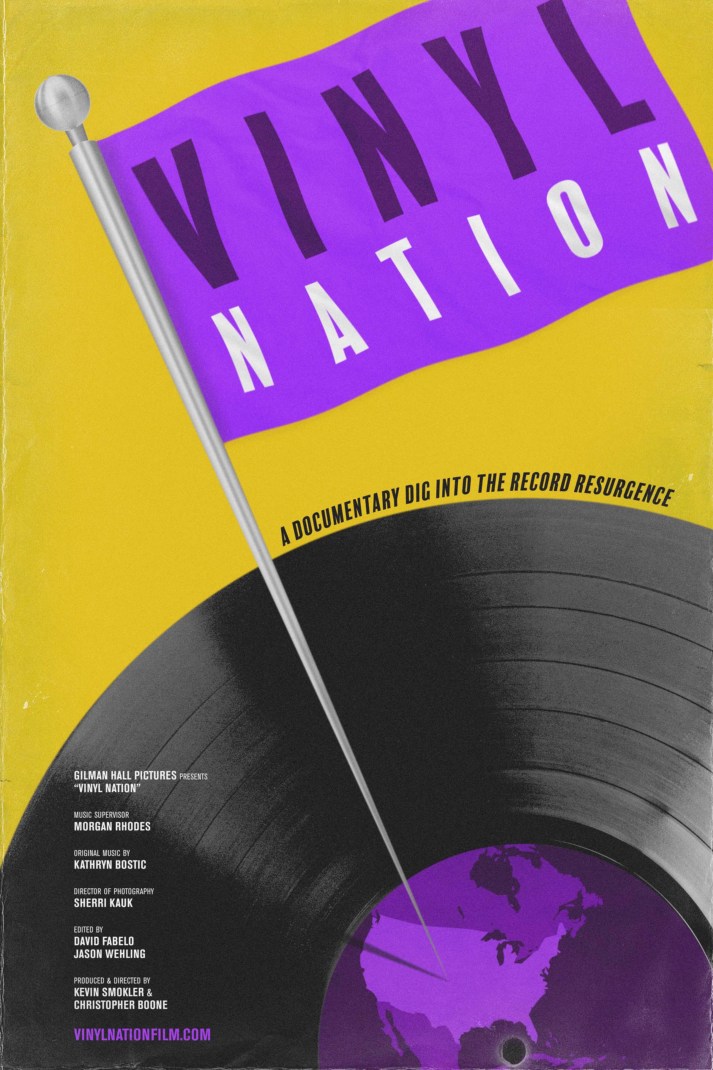 Vinyl Nation poster
