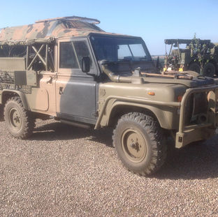 Land rover Australia Perentie RFSV (upgrade) 1990 owned by Iain Adair