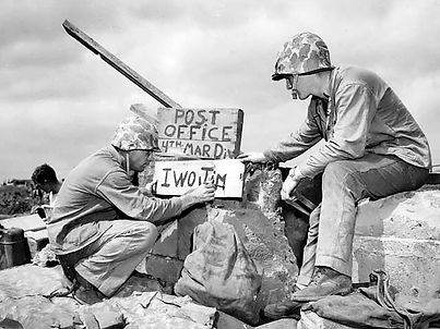 Fourth_Division_Post_Office_on_Iwo_Jima.
