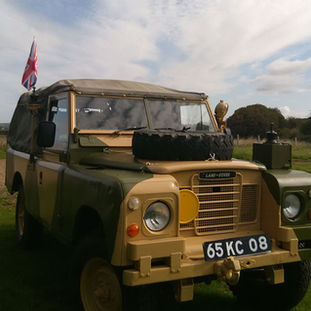 1984 Land rover 109 series 3 finished in Batus camo owner Peter Evans