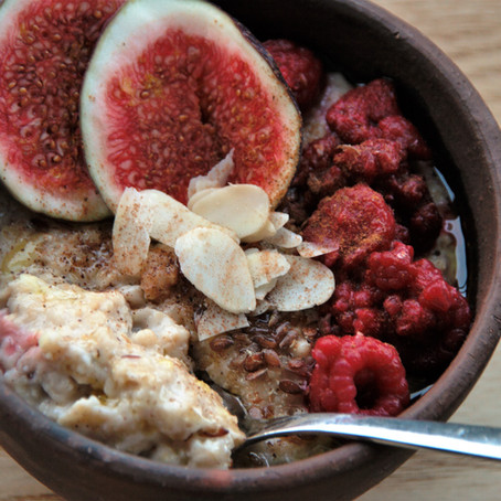 Feigen-Porridge
