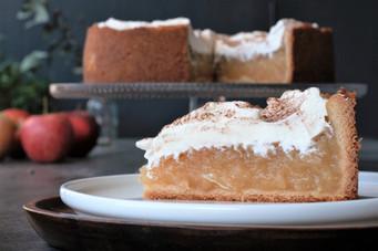 Apfel-Weißwein Torte