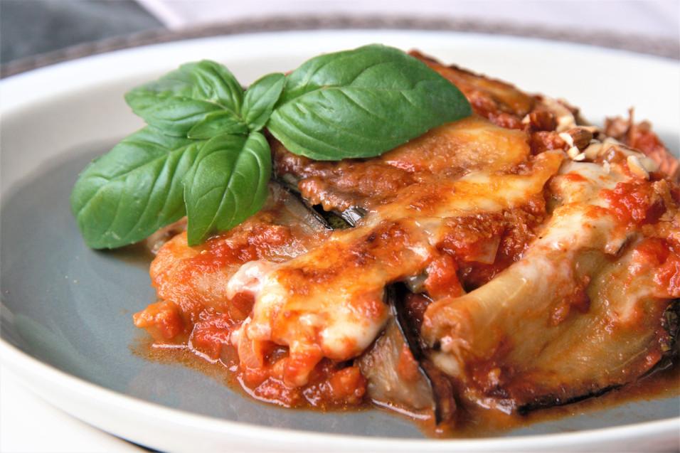 Parmigiana di melanzane {vegi, low carb}