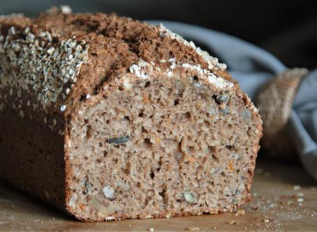 5 Minuten-Brot mit Hafer und Karotte