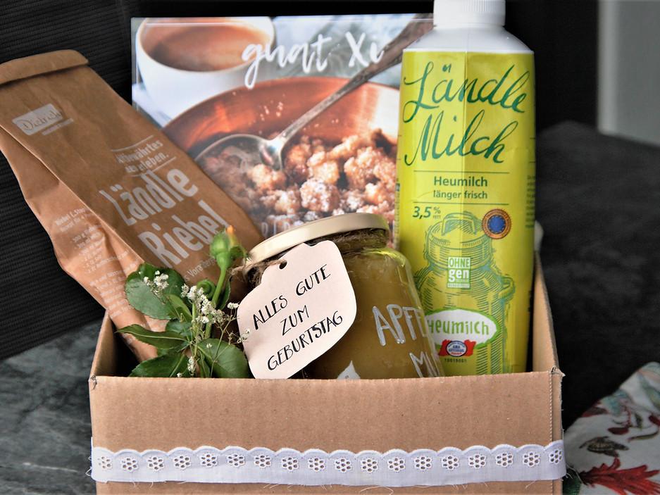 Riebel-Geschenkbox