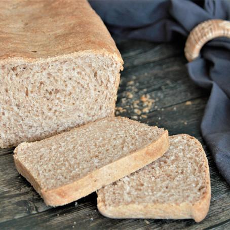 super weicher Dinkel Toast