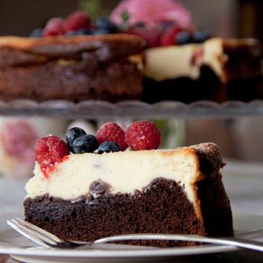 Brownie-Cheesecake (Nr. 10)