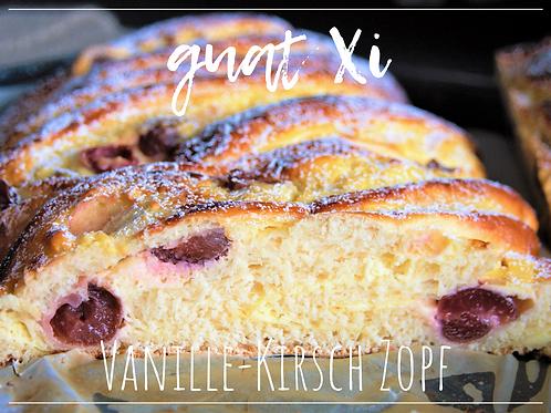 Vanille-Kirsch Zopf