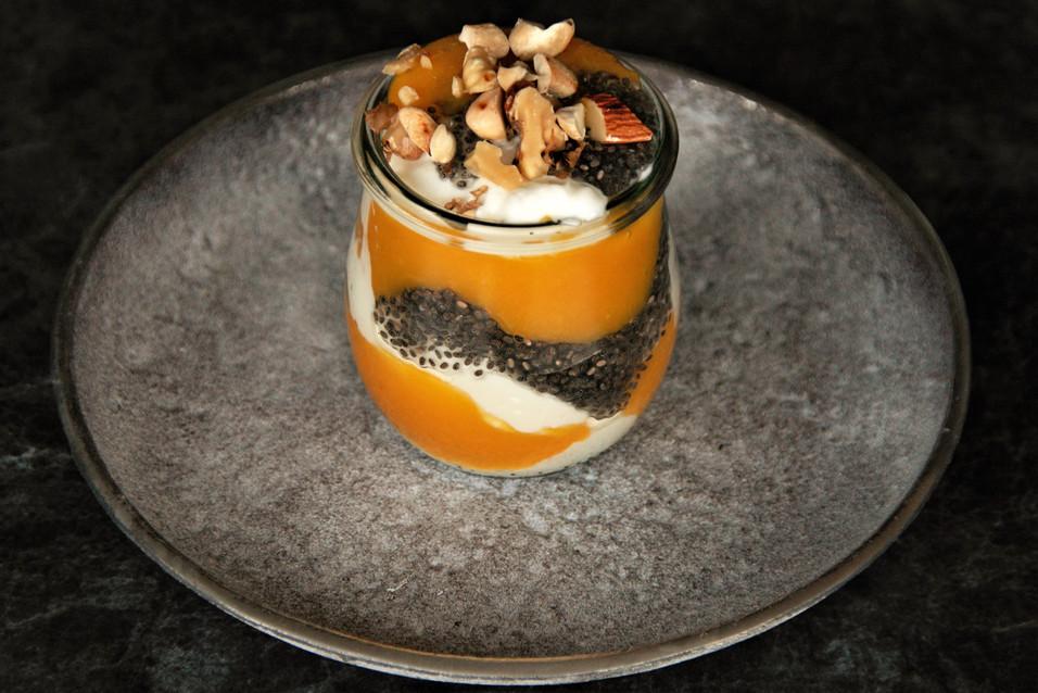 Joghurt-Mango-Chiapudding