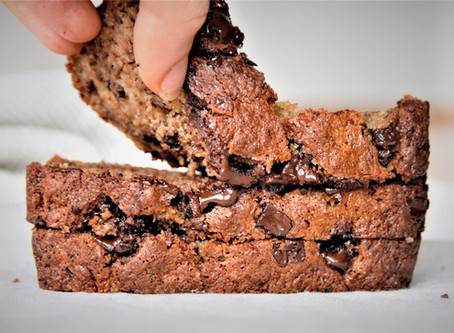 Choclate-Chip Bananenbrot