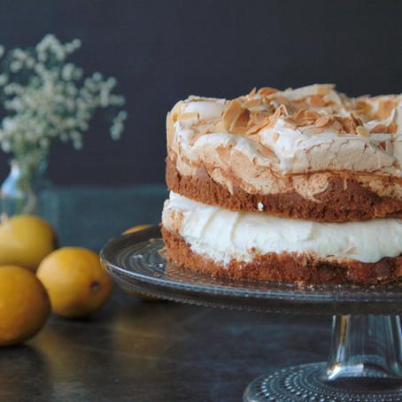 Zitronen-Baiser Torte (Nr. 67)