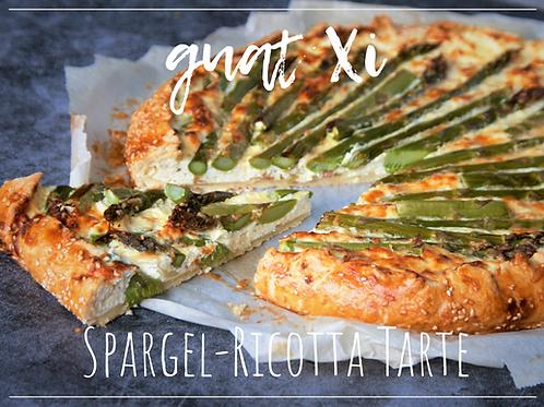 Spargel-Ricotta Tarte