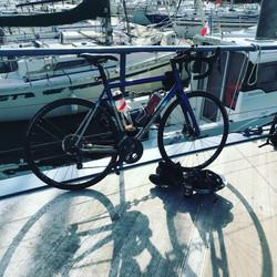 Parking on board the HMS Medusa