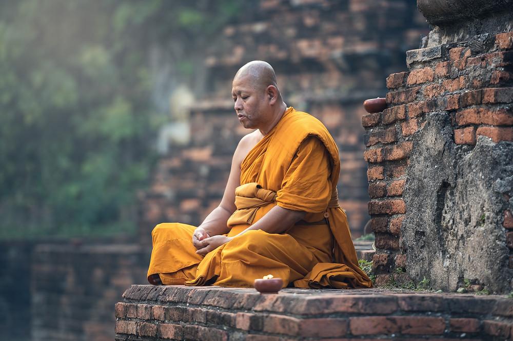 Bhuddist Monk