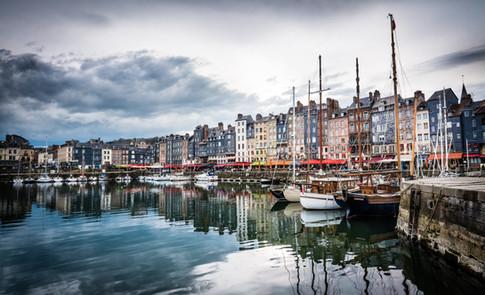 The coastal towns...
