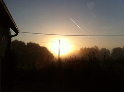 Dangy at sun-rise