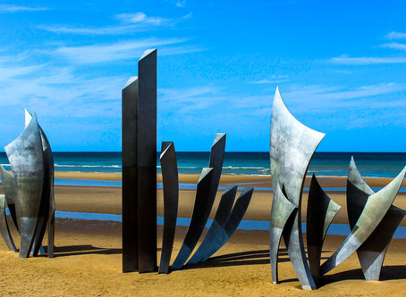 The D-Day Beaches - for a truly inspirational cycle ride
